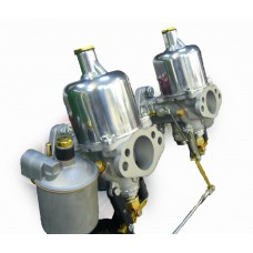 "002 - Refurbished  1 1/4"" SU carburettors"