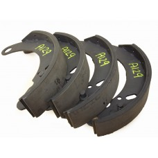 Brake shoe with improved lining.  TA, TB & TC