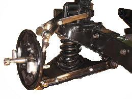 Front suspension (5)